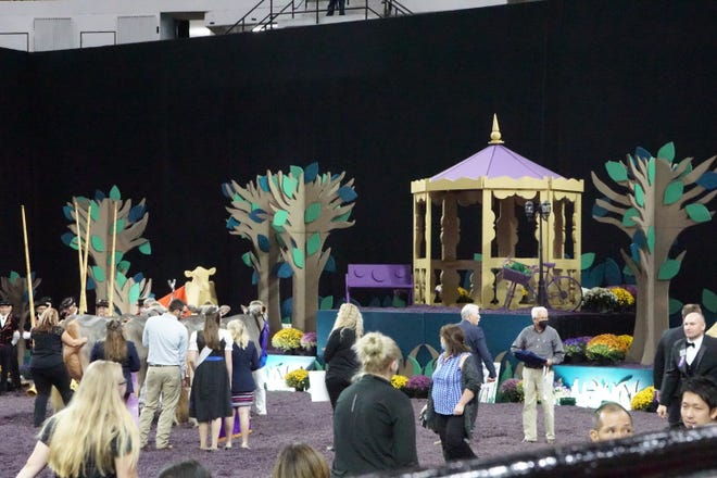 """A look at this year's show-stopping display at the Coliseum, modeled after the theme """"Instrumental to the Industry."""""""