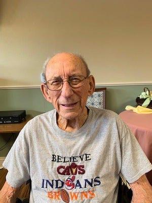 Kirby Nesbitt when he was 98 years old.