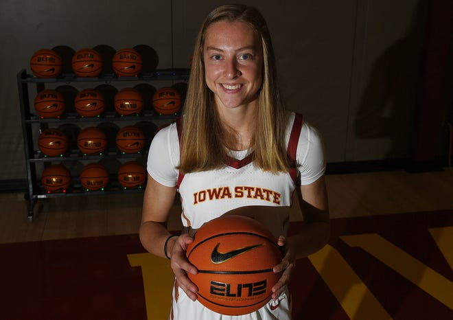 Iowa State point guard Emily Ryan is hoping to take her game to the next level as a stronger shooter this season.