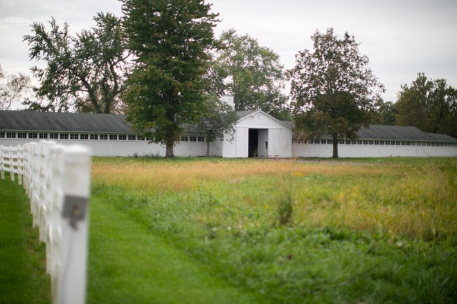 The Round Barn at Battelle Darby Creek Metro Park was used for a recent wedding by a coworker of Metro Parks Executive Director Tim Moloney. Metro Parks usually doesn't open the barn for events.