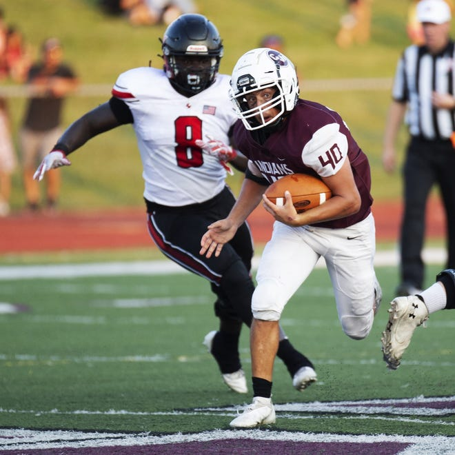 Ethan McGlone and Canal Winchester play host to Westerville South on Oct. 8 in an OCC-Capital game.