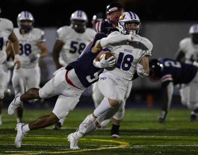 Gabe Caruso (18) and DeSales play host to Watterson on Oct. 8 in a CCL showdown.
