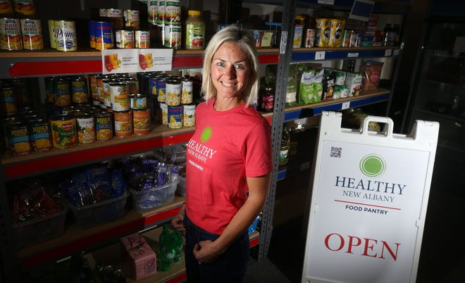 Jennifer Wilcoxon is the director of the New Albany Food Pantry, 79 N. High St.