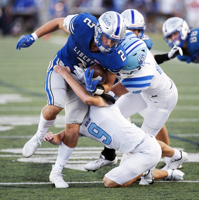 Chase Brecht and Olentangy Liberty visit Hilliard Bradley on Oct. 8 in OCC-Central play.