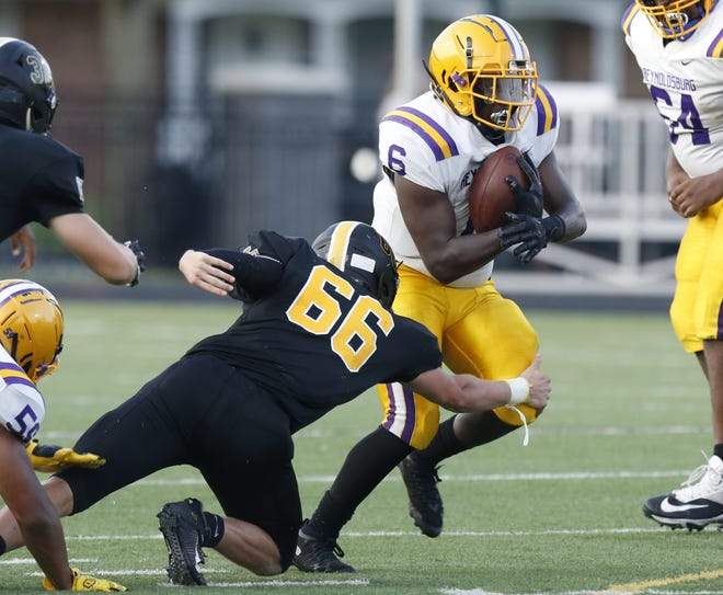 Zion Jackson-Wilborn and Reynoldsburg play host to Lancaster on Oct. 8 in a key OCC-Buckeye game.