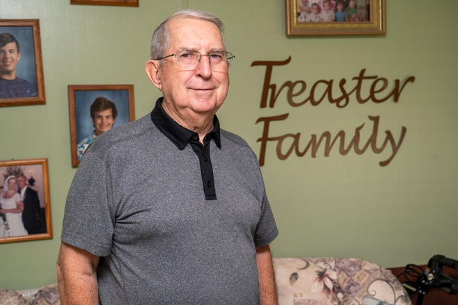 Eustis resident Ron Treaster spent two years in the Marine Corps and more than 30 years in law enforcement.