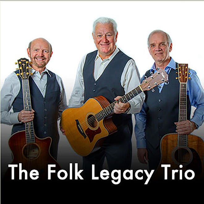 The Folk Legacy Trio will perform at the Dodge City Civic Center on Monday, Oct. 11 at 7 p.m. as part of the Dodge City Community Concert Association concert season.
