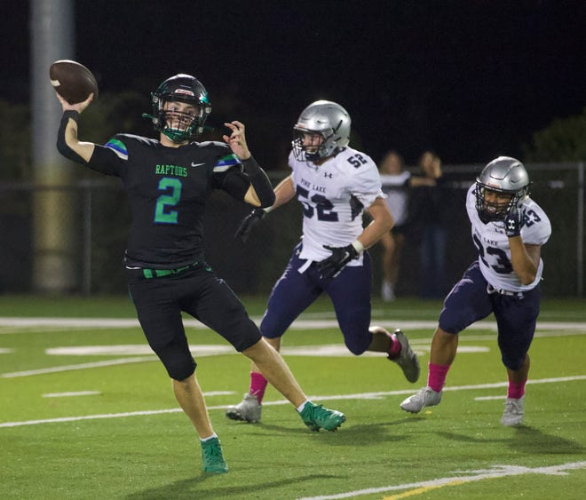 Images from the Oct. 5, 2021 contest between Mountain Island Charter and Pine Lake Prep.