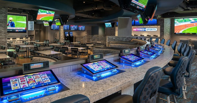Paragon Casino Resort in Marksville marks the opening of sports betting in Louisiana.