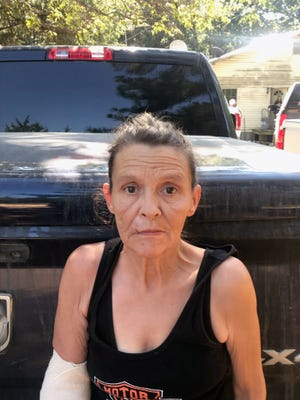 Patty Armstrong was returned to Grayson County Wednesday to face an attempted murder indictment. (courtesy photo)