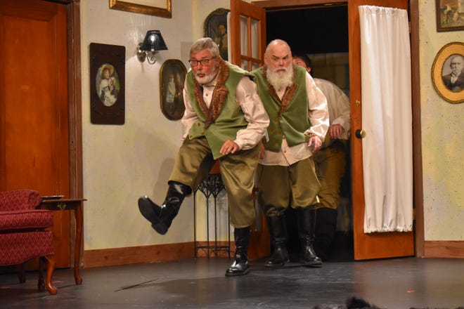 """Holland Community Theatre will celebrate its 2021-2022 season this weekendwith """"The Government Inspector."""" The uproarious comedy of small-town corruption takes place in a provincial town in Russia in the 1800s."""
