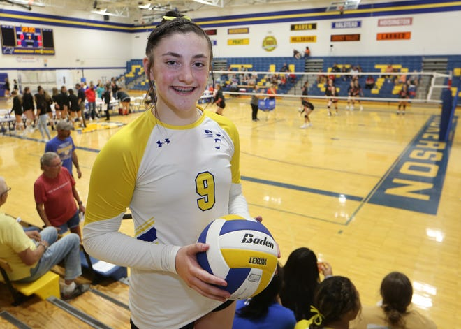 Nickerson junior Josie McLean surpassed the 1,000 assists milestone as the setter of the Panthers volleyball team.
