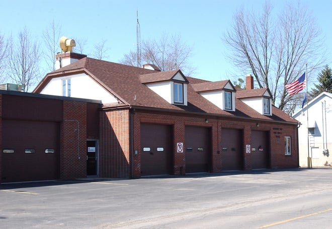 This Monroe News file photo shows the Bedford Township Fire Station No. 2, located on W. Dean Rd., as it looked in 2004. The station's interior will soon receive a massive overhaul.