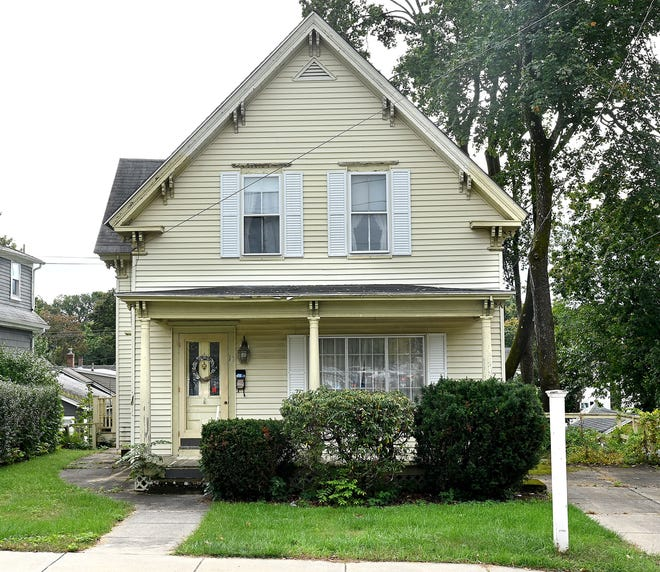 This 1,700-square-foot home at 10 Emmons St. in Franklin is listed for $382,000.