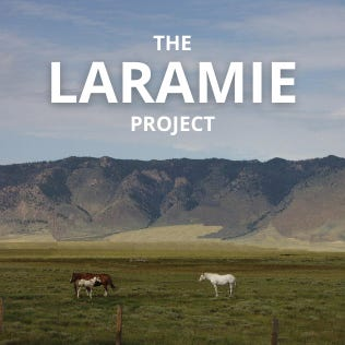 """Enter Stage Left Theater will present """"The Laramie Project,"""" a 2000 play by Moisés Kaufman and members of the Tectonic Theater Project about the reaction to the 1998 murder of gay University of Wyoming student Matthew Shepard in Laramie, Wyoming, on Oct. 15, 16, 22 and 23."""