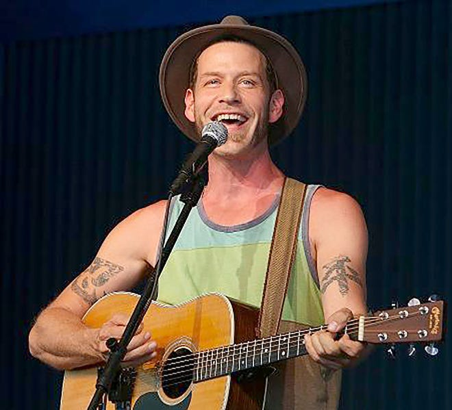 Canadian folk musician Scott Cook performs at 7 p.m. Oct.16in theArts Caféat the Earlville Opera House.