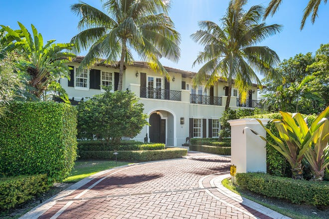 A three-bedroom house completed in 2007 on a half-acre lot at 13 Via Vizcaya in Palm Beach has sold privately for a recorded $18.22 million.