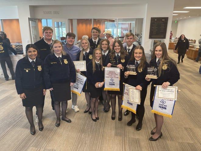 Stephenville FFA competed earlier this week at the State Fair of Texas Agriscience Fair in Dallas.