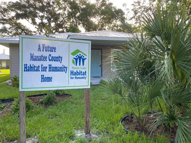 Manatee County Habitat for Humanity is using its portion of funding from Bank of America to help build a house for a Bradenton family. The home also will feature energy efficient upgrades.