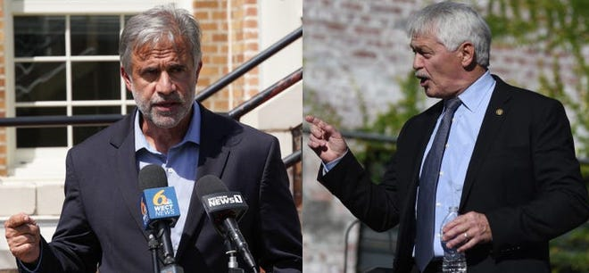 Current Wilmington Mayor Bill Saffo is being challenged for his seat by former mayor Harper Peterson.