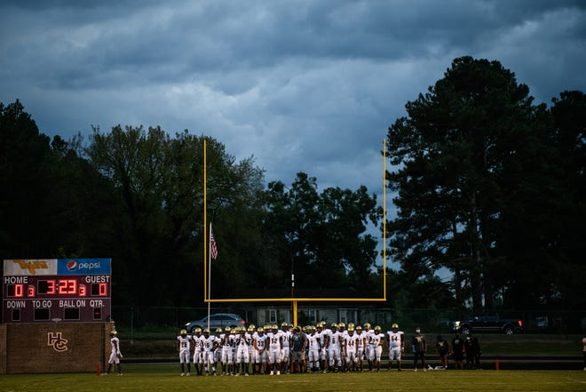 E.E. Smith's home game against Pine Forest has been moved to 6 p.m. Friday night.