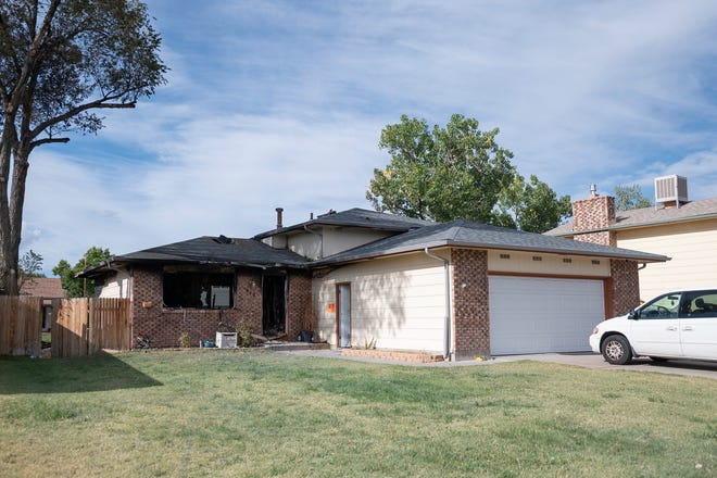 A house fire on the 900 block of Candytuft Boulevard in Pueblo's University Park neighborhood claimed the life of a young child on Tuesday evening October 5, 2021.