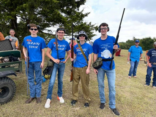 More than 150 shooters competed at the Oct. 2 event held at Bethel Cannon Ranch.