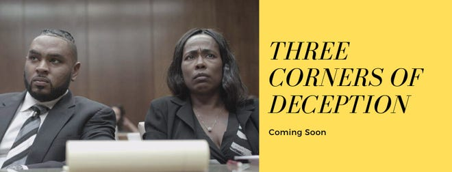 """Dr. Maleeka Clary, the film's writer and director wil star in her film, """"Three Corners of Deception"""" at the Showcase Cinema De Lux Randolph, 73 Mazzeo Drive, at 7:30 p.m., Friday, Oct. 8."""