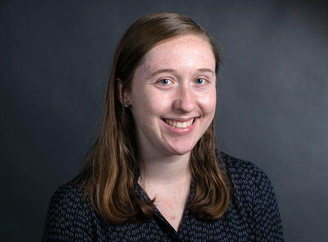Rachel Berry, Northern Kentucky reporter.  Photo shot Wednesday, October 6, 2021.