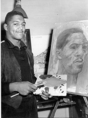 Harold Bradley Jr. once described pro football as a great career because it gave him five months a year to devote to making art.