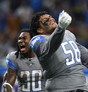 Lions rookie offensive tackle Penei Sewell is nursing an ankle injury that will limit him to start the practice week ahead of Sunday's game with the Minnesota Vikings.