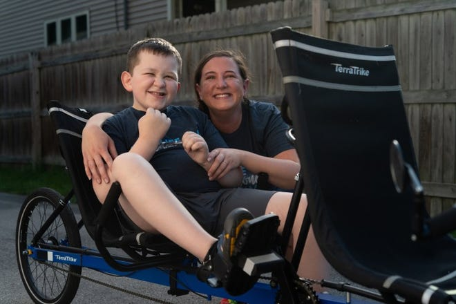 Denise Seibert says she spends all of her waking hours thinking about how to care for her son, Tyler, who has fragile X syndrome, which causes low muscle tone and significant learning disabilities. Seibert believes the special education staff at Tyler's Green Bay school have his best interests at heart, but they often appear to be stretched too thin.