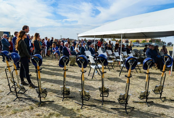 Touro College and University System held a ground breaking ceremony for its newest medical school, Touro College of Osteopathic Medicine that will be located in Great Falls at 18th Avenue South and 26th Street South, Wednesday.