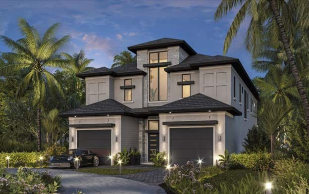 Theory Design is finalizing the interior design for Seagate Development Group's furnished Olema model at Talis Park.