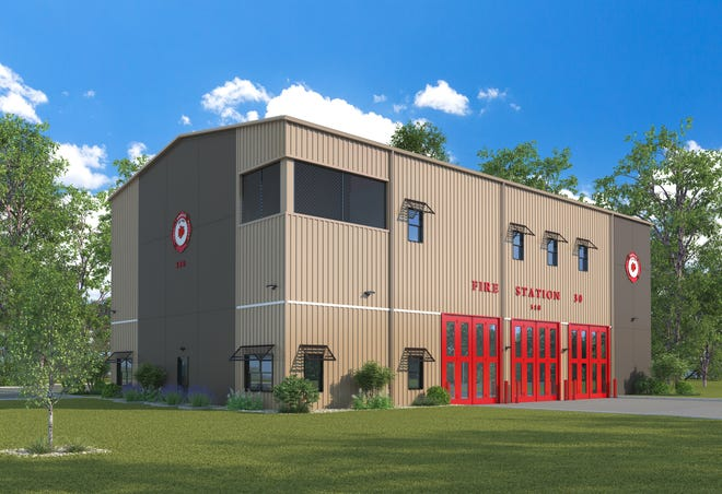 Rendering Immokalee Fire Station No. 30.