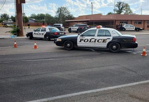 Tucson police shot a man who they say fired a gun at officers in an area east of Fort Lowell Road and Stone Avenue on Oct. 5, 2021.