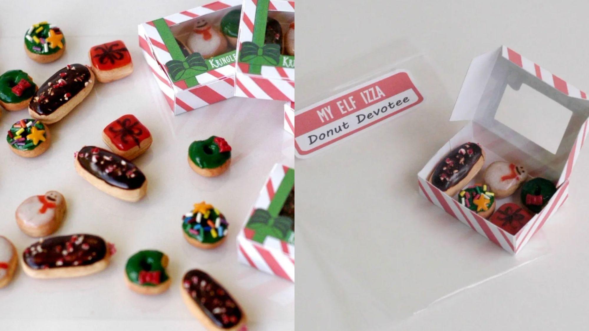 Elves love sugary treats from Kringle Kreme