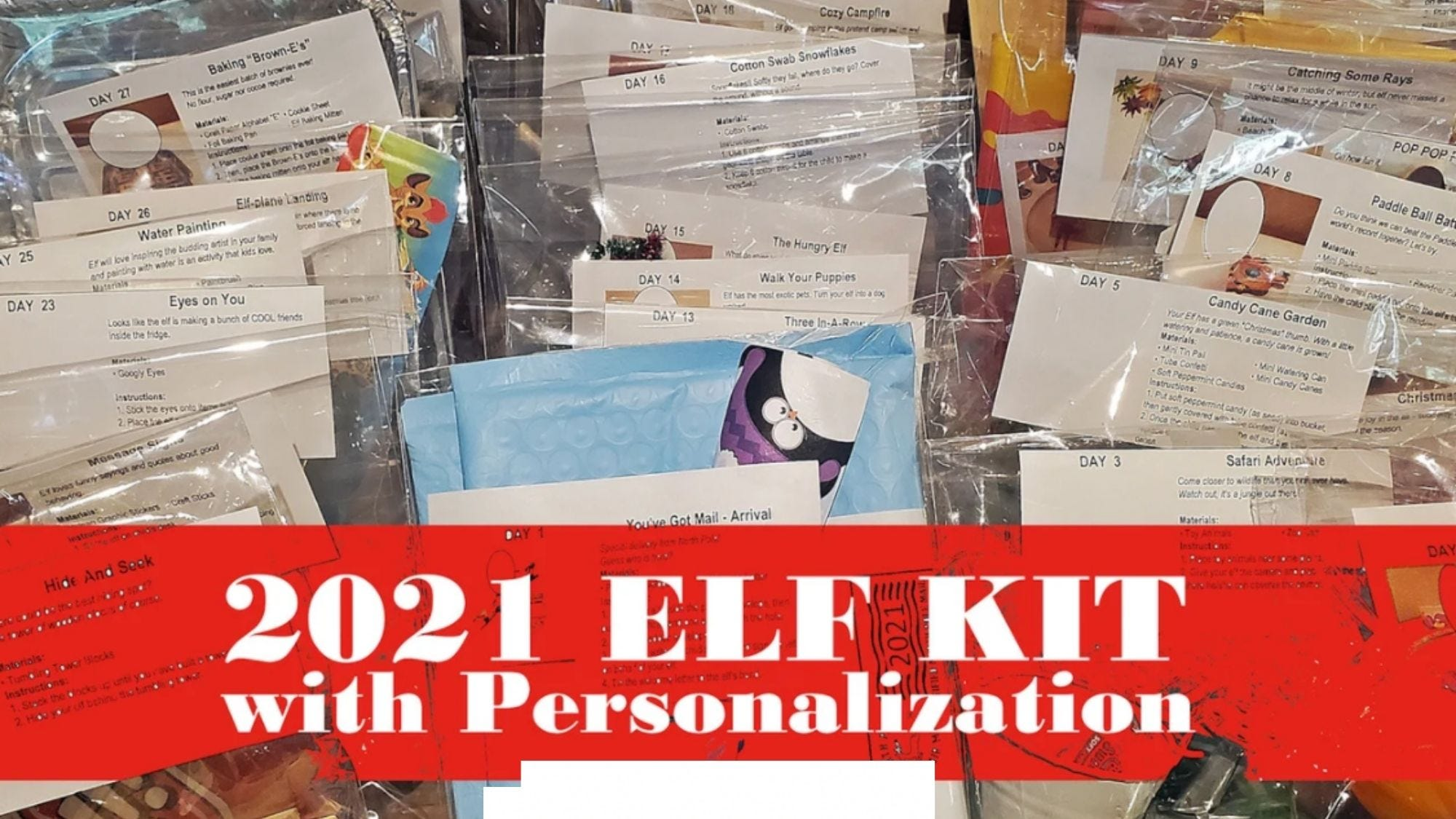 This elf kit can be completely customized!