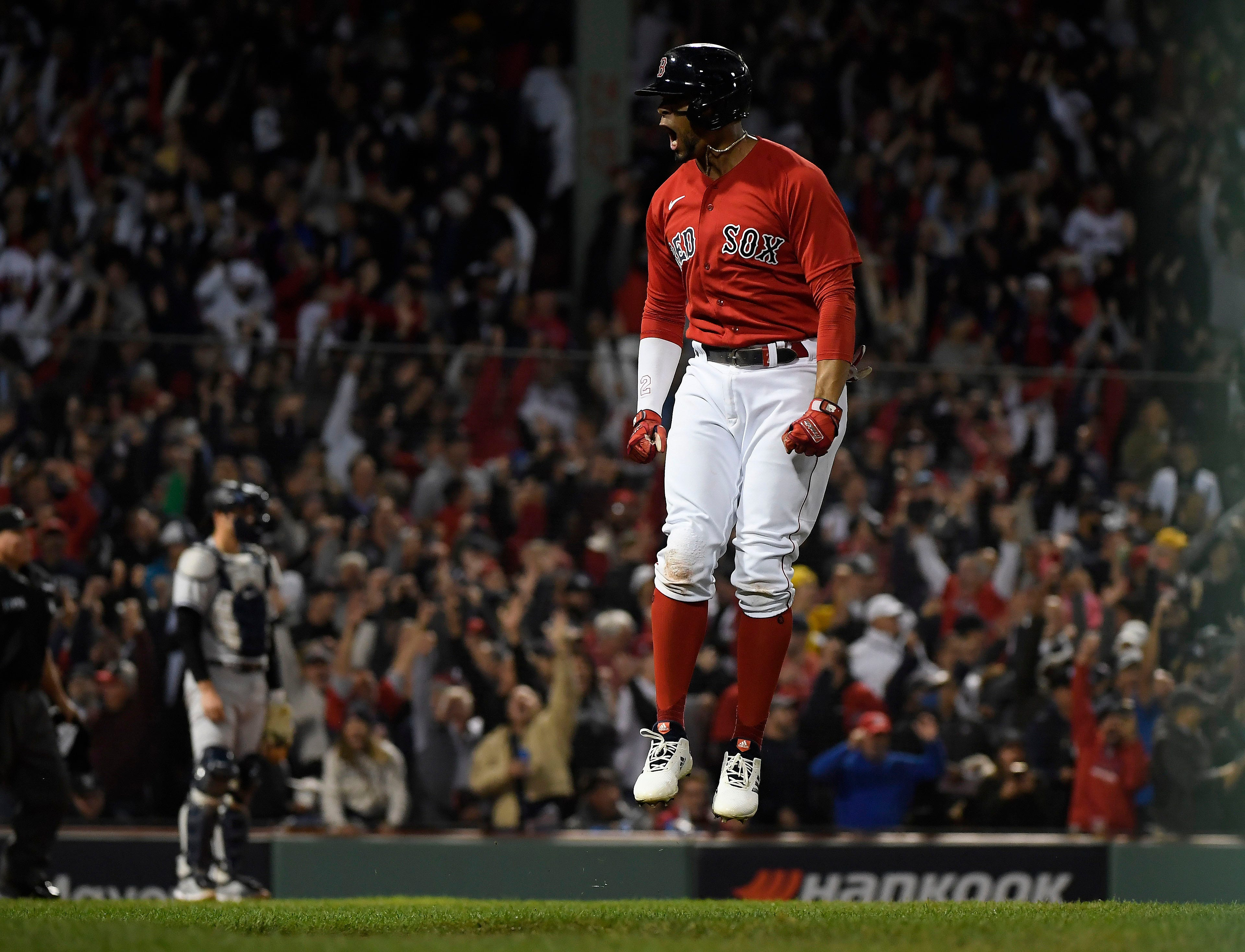 Red Sox chase Gerrit Cole early, beat Yankees in winner-take-all AL wild-card game