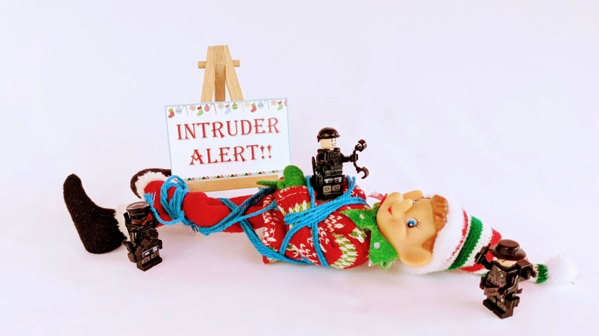 This kit is filled with wit and hilarity, to make for a truly impressive month with your elf.