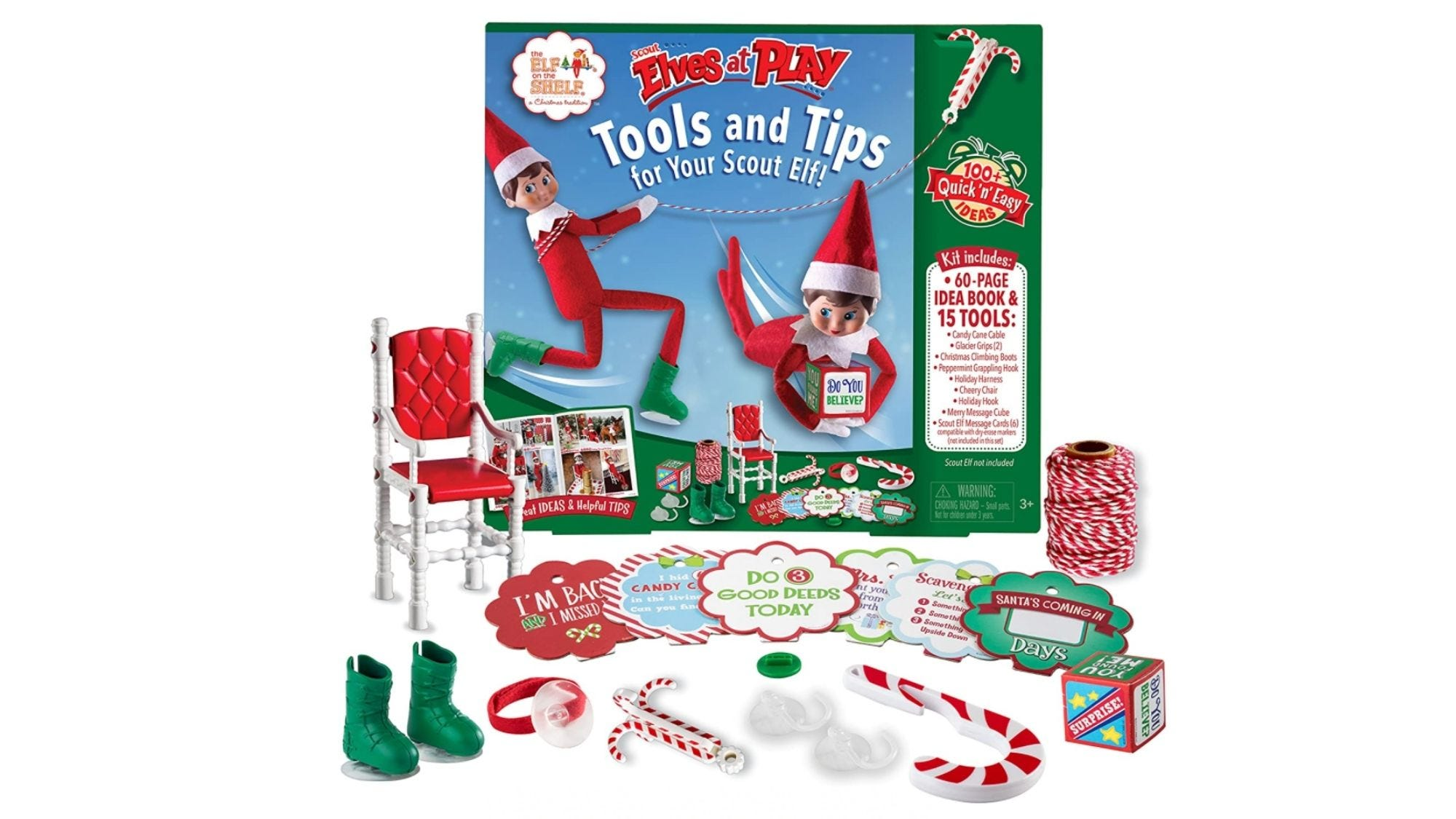 This book is brimming with ideas for making the most of your Elf on the Shelf.