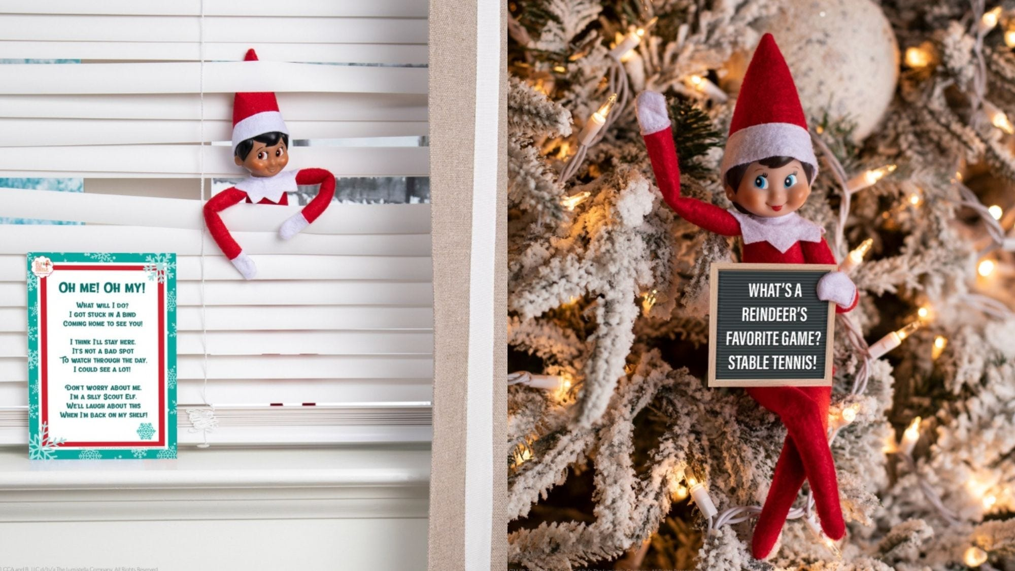 To get the fun started, get yourself an elf!