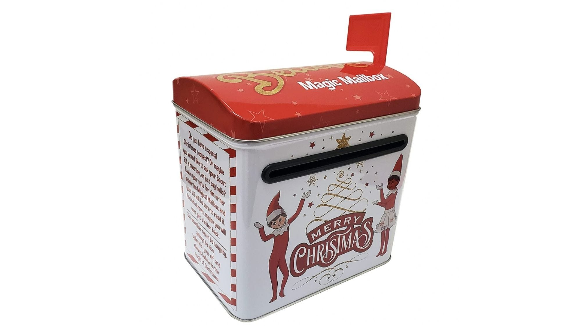 Just what you and your elf need for daily correspondence with Santa.