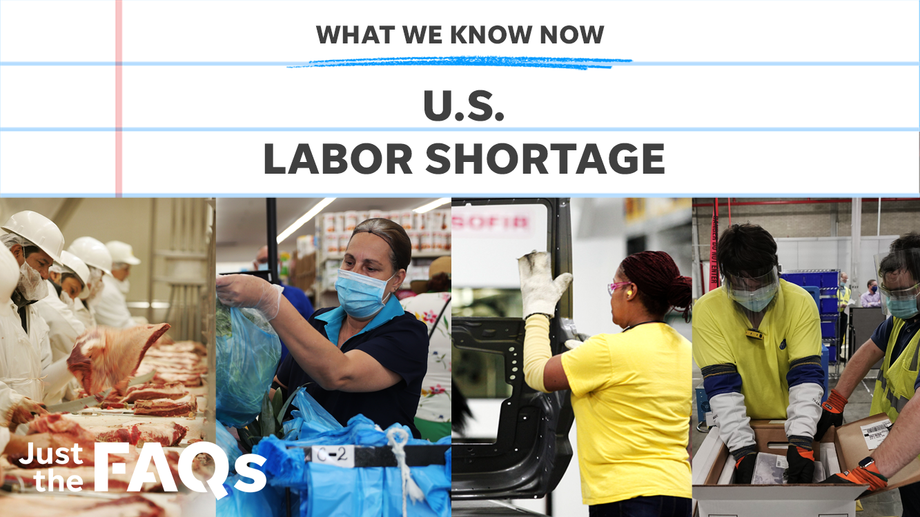 Why the U.S. is facing one of the worst labor shortages in history