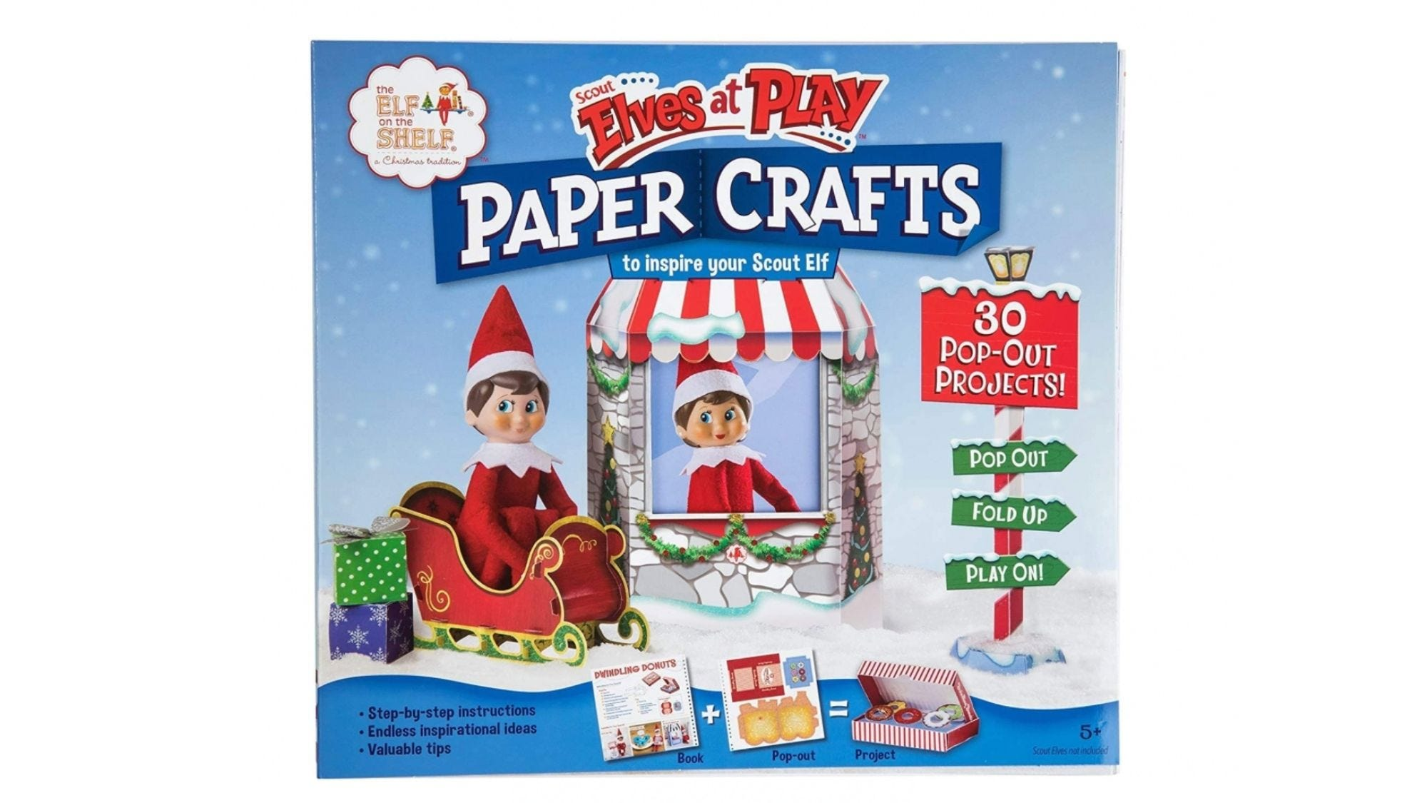 This kit is filled with fun and foldable pop-out props.