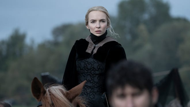 """Jodie Comer in a scene from """"The Last Duel"""""""
