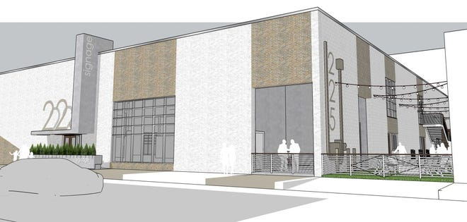 Rendering of The Kee, an event and entertainment space planned for 225 Neilston St. Downtown.