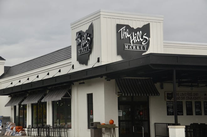 The Hills Market at 7860 Olentangy River Road in Columbus is one of the parcels in the Joint Economic Development District agreement between Sharon Township and the city of Worthington. The arrangement will enable the city to collect income-tax revenue for the township.