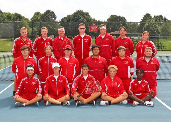 The Coldwater Cardinal Tennis team finished off their 2021 season with at 6th place finish at the Regional tournament on Wednesday