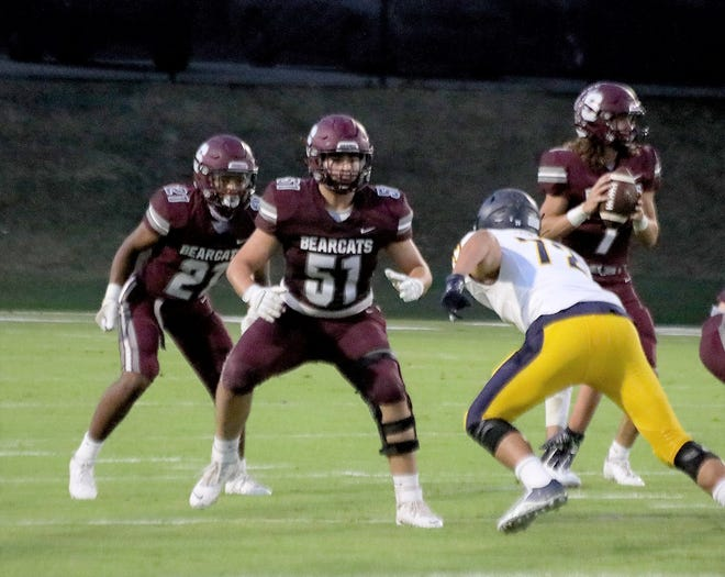 Sherman senior tackle Nolbert Sibrian is playing on offense for the first time after he entered last year as a starting defensive end and suffered a season-ending knee injury two snaps into the first game.